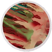 Native Abstract Weave Round Beach Towel