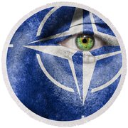 Nato Round Beach Towel