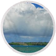 Natures Grandeur Round Beach Towel