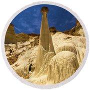 Natures Sculpture Round Beach Towel