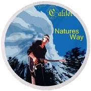 Natures Way 5 Round Beach Towel