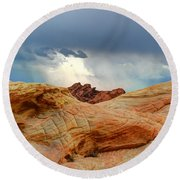Natures Wonders Round Beach Towel