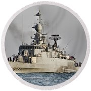 Naval Joint Ops V8 Round Beach Towel