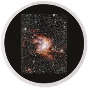 Nebula Ngc 3603 Round Beach Towel