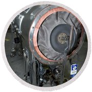 Negative Pressure Ventilator, Iron Lung Round Beach Towel