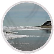 Newcomb Hollow I Round Beach Towel