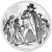Newsboys, 1854 Round Beach Towel
