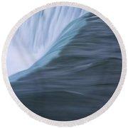 Niagara Horseshoe Falls Ontario. No 86 Round Beach Towel
