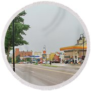 North Winooski Ave. Round Beach Towel
