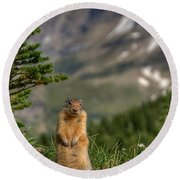 Not Much...whatz Up With You? Round Beach Towel