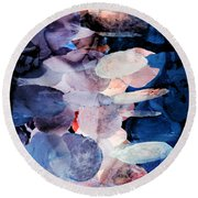 Nowhere Else To Go Round Beach Towel by Angelina Vick