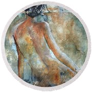 Nude 564213 Round Beach Towel