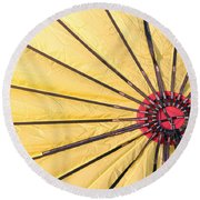 Nylon Sun Rays Round Beach Towel