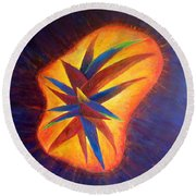 Oasis II-banned Love Round Beach Towel
