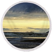 Ocean Power Series Round Beach Towel