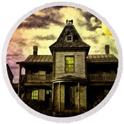 Old House At St Michael's Round Beach Towel
