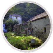 Old Watermill Round Beach Towel
