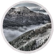 Olympic Ridge Round Beach Towel