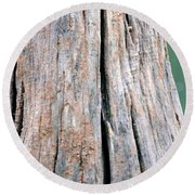 Once A Tree Round Beach Towel