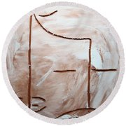 Only - Tile Round Beach Towel