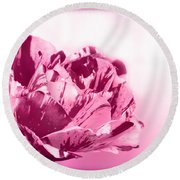 Only A Rose Round Beach Towel