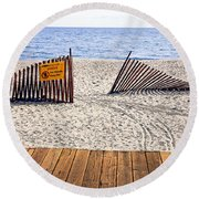 Ontario Round Beach Towel