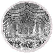 Opera: Don Giovanni, 1867 Round Beach Towel