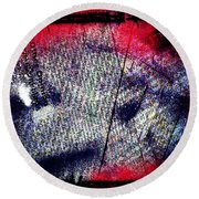 Opinion Of Stain Round Beach Towel