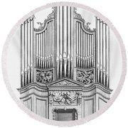 Organ, 1760 Round Beach Towel