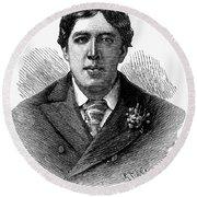 Oscar Wilde (1854-1900) Round Beach Towel