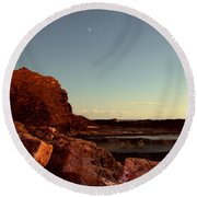 Other World This World Round Beach Towel
