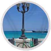 Otranto - Apulia Round Beach Towel