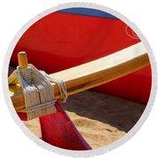 Outrigger Rigging - 2 Round Beach Towel