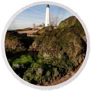 Over The Jetty Round Beach Towel