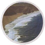 Pacific Coast Round Beach Towel