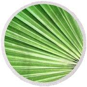 Palm Leaf Round Beach Towel