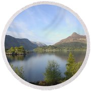 Pap Of Glencoe Round Beach Towel