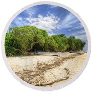 Paradise Lost 1.0 Round Beach Towel