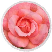 Paris Rose Round Beach Towel
