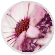 Passion Triptych 11 Round Beach Towel
