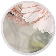 Passionly  Pink Round Beach Towel