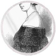 Pauline Viardot-garcia Round Beach Towel