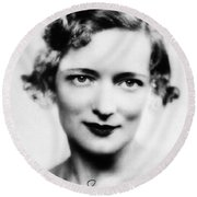 Peggy Wood (1892-1978) Round Beach Towel