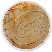 Pepsi Cola Remembered Round Beach Towel