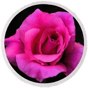 Perfect Rose Round Beach Towel