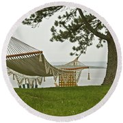 Perfect Spot Round Beach Towel by Paul Mangold