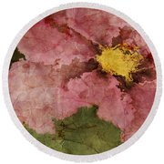 Petaline - Ar01bt05 Round Beach Towel by Variance Collections