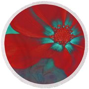 Petaline - T23b2 Round Beach Towel