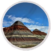 Petrified Forest National Park Round Beach Towel