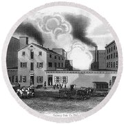 Philadelphia: Distillery Round Beach Towel